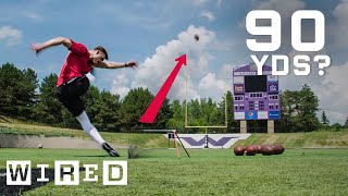 Why It's Almost Impossible to Kick a 90-Yard Field Goal | WIRED