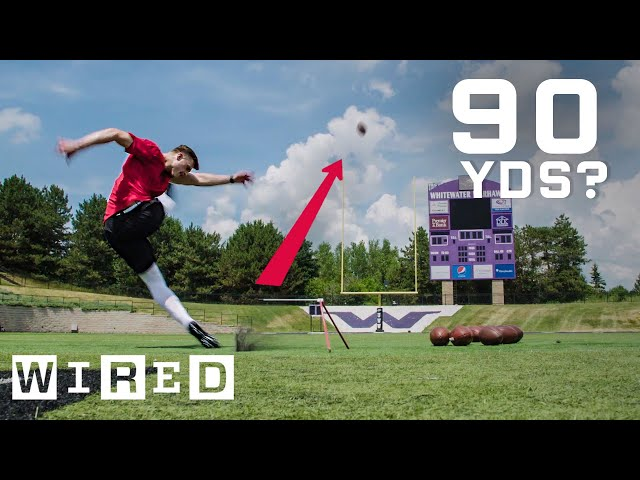 Why It's Almost Impossible to Kick a 90 Yard Field Goal   WIRED