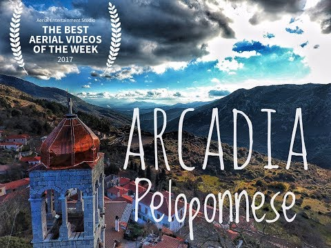 Beautiful Arcadia Peloponnese |Greece Aerial video | Ορεινή Αρκαδία