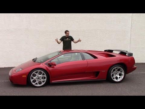 The Lamborghini Diablo Was the Craziest Car of the 1990s