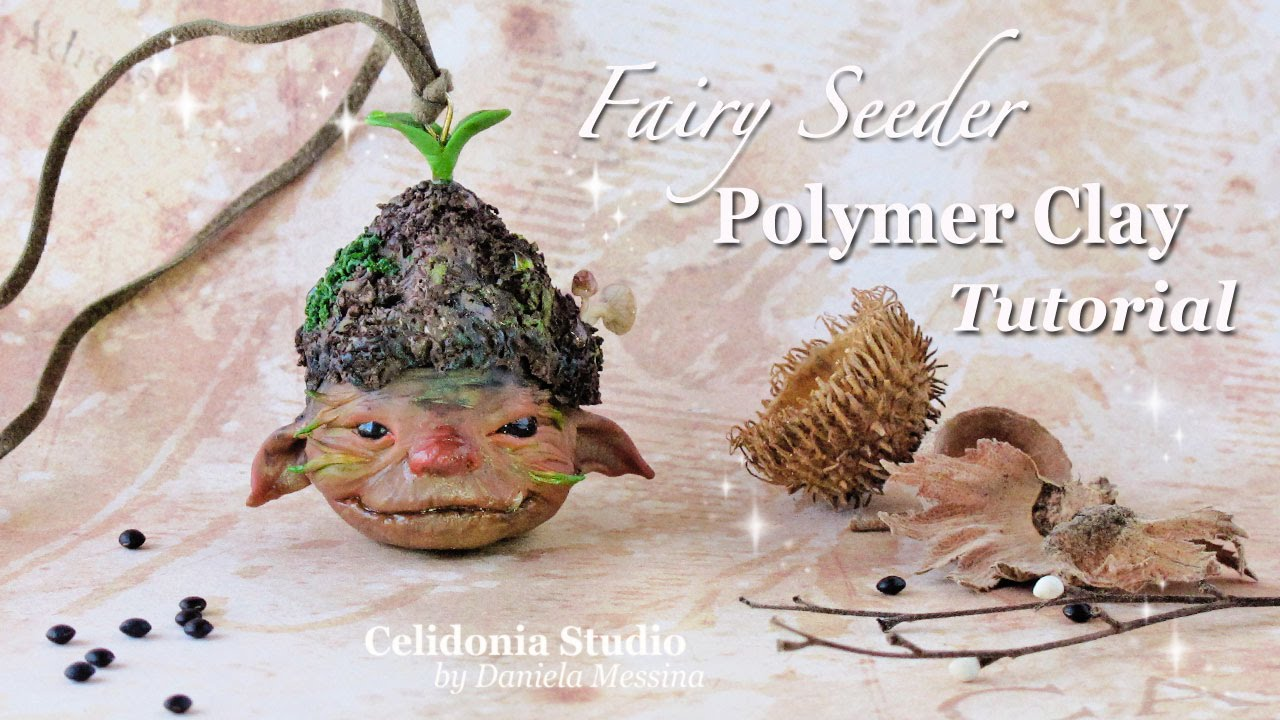 how to make fairy with clay