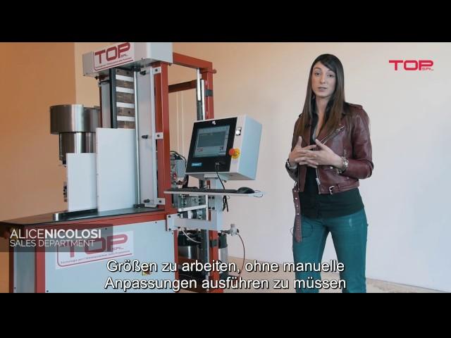 Cnc machine FS850 deutsch