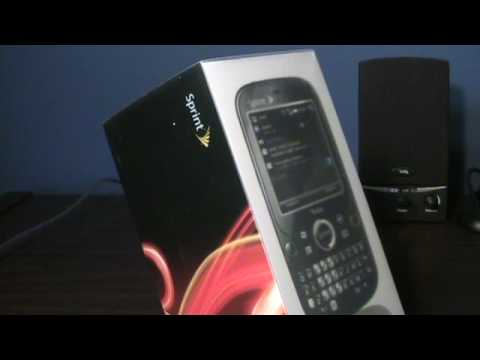 Palm Treo Pro (Sprint) Unboxing