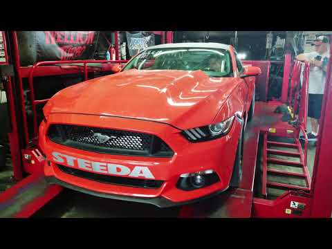 "Hellion ""Street Sleeper"" Twin Turbo System for S550 Ford Mustang GT"