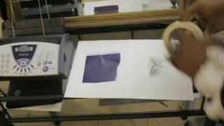 How To Make A Tattoo Stencil Using A Fax Machine