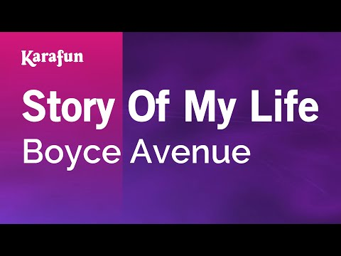 Karaoke Story Of My Life - Boyce Avenue *