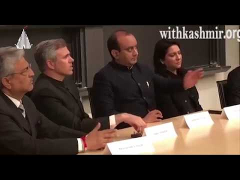 Omar Abdullah confronted by another Kashmiri-American in USA