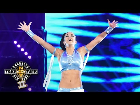 Bayley's Entrance: NXT TakeOver: Brooklyn II, Only On WWE Network