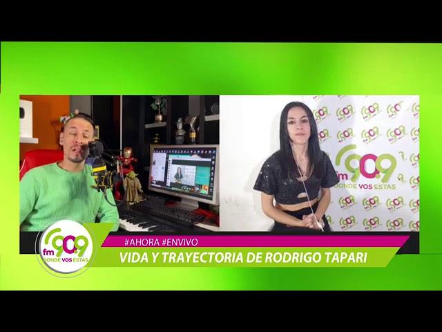 Mano a mano con Rodrigo Tapari para todo el mundo.