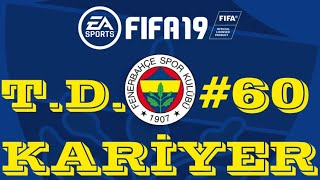 GALATASARAY DERBİSİ ! FIFA 19 KARİYER MODU #60