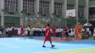 仁濟醫院靚次伯紀念中學 - 南華甲一籃球隊到本校指導籃球隊同