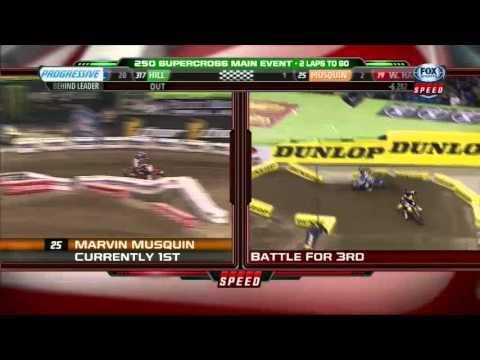Supercross Toronto 250 Main 2013 (français)