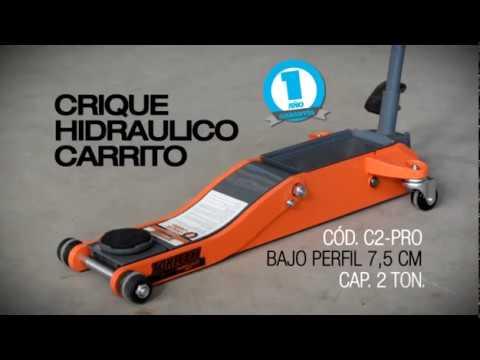 CRIQUE HIDRÁULICO CARRITO BAJO PERFIL | TORLETTI