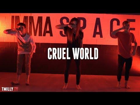Phantogram - Cruel World - Choreography by Janelle Ginestra #TMillyTV