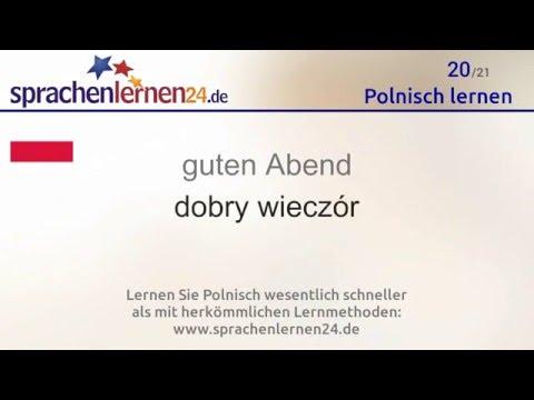 Lernen Sie Die Wichtigsten Wörter Auf Polnisch