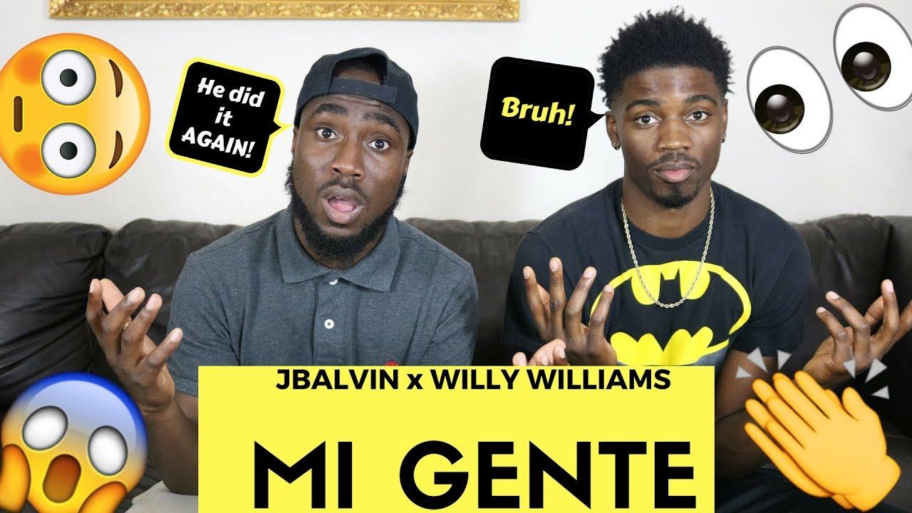 J Balvin Willy William Mi Gente Official Reaction