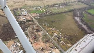 Louisianan City Of Alexandria Suffers Damage After Being Hit By Tornado