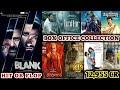 Box Office Collection Of Blank,Lucifer,K13,Devarattam,Dil Diyan Gallan,Endgame,Kanchana 3 & Jersey