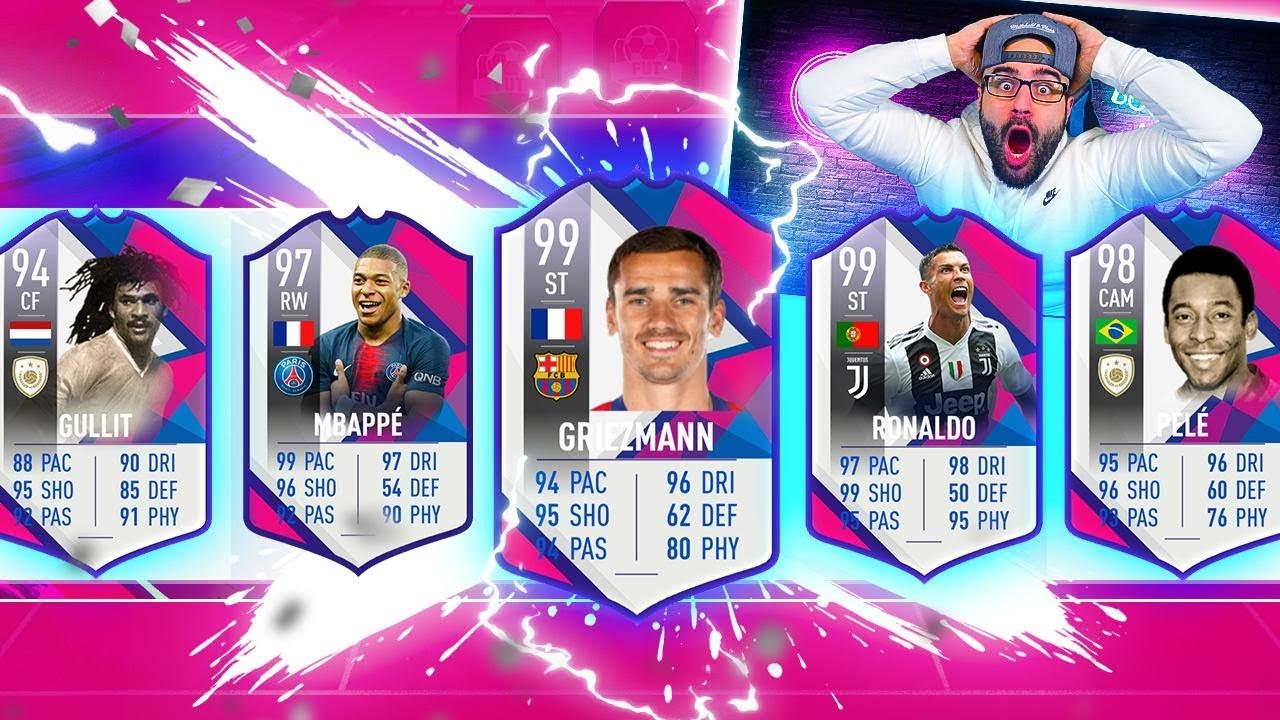 YES! MY BEST DRAFT EVER!! FIFA 19 Ultimate Team Highest Rated Draft thumbnail
