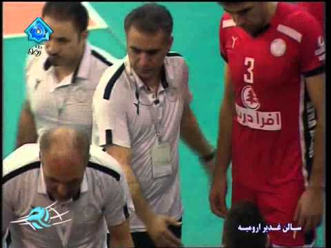 Highlights Men's Premier Volleyball league | Semifinal - Shahrdari Urmia V. Paykan