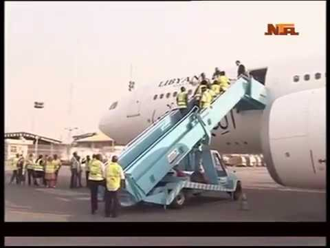Nigeria Deportees From Libya Arrives