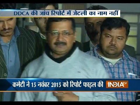 DDCA Scam: Arun Jaitley Not Named in Delhi...