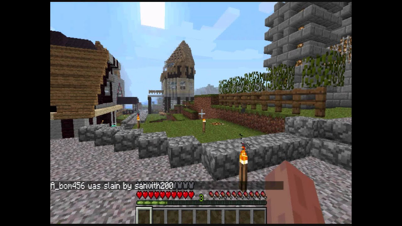 Minecraft cracked server (greifers will be ip banned) - YouTube