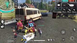 Garena Free Fire Live Heroic Rush Ranked Gameplay - GaiTonde