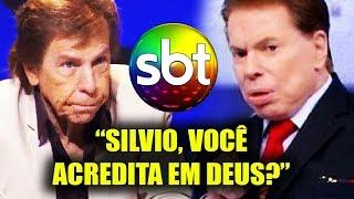 INACREDITÁVEL, mas passou na TV! Silvio Santos é Desafiado e veja o que ele falou de DEUS