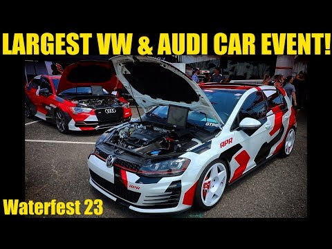 Waterfest 23 (2017) After Movie | Largest VW & Audi Car Event