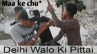 Delhi Boys & Punjabi Boys || Fight || Police || Crack Minde