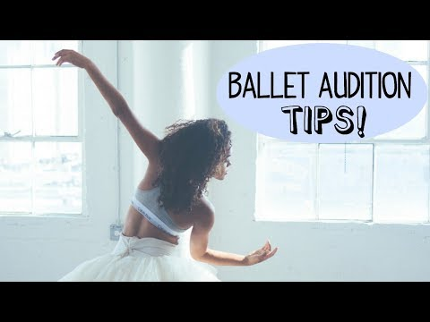 DANCER AUDITION TIPS | Alison Stroming