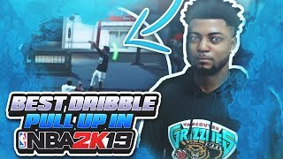 BEST DRIBBLE PULL UP IN NBA 2K19 ! HIT CONTESTED WITH THIS GLITCHY DRIBBLE PULL UP | BEST POST MOVES