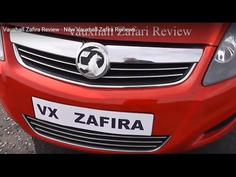 Vauxhall Zafira Review - New Vauxhall Zafira Reviews