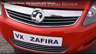 Vauxhall Zafira Review - New Vauxhall Zafira Reviews