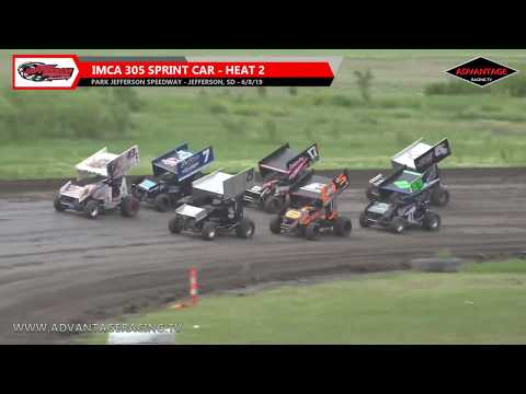 Open wheel action hits the dirt of the Park Jefferson Speedway as IMCA Sport Modifieds and RaceSaver 305 Sprint Cars take flight around the track. You can ... - dirt track racing video image