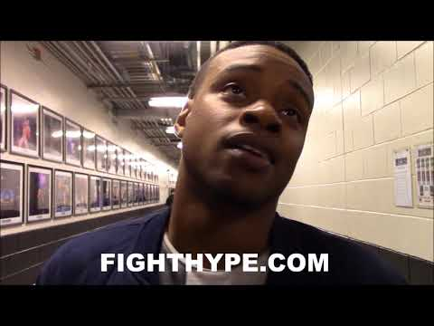 ERROL SPENCE JR. REACTS TO TERENCE CRAWFORD MOVING TO 147; EXPLAINS WHY HE'LL HAVE TO GET IN LINE