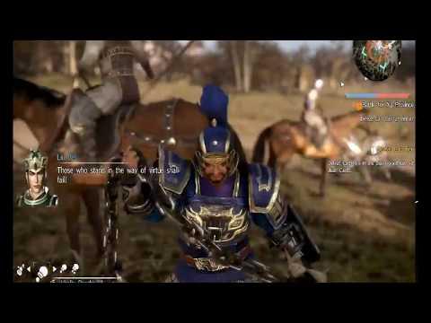 Dynasty Warriors 9 Shu Kingdom story playthrough.