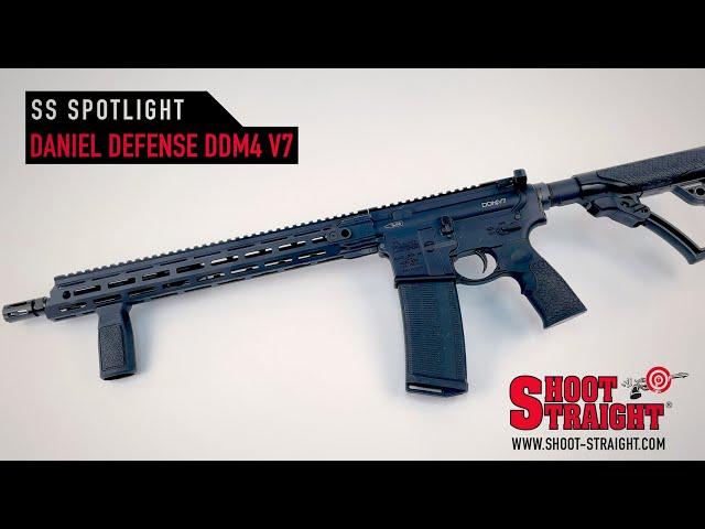 Daniel Defense DDM4 V7 Rifle -  Shoot Straight Spotlight