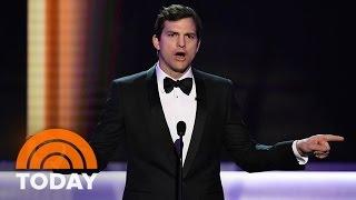 Ashton Kutcher, Other Celebrities At SAG Awards Slam President Trump