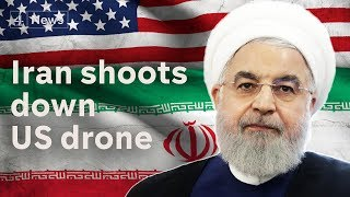 Iran shoots down US drone as tensions escalate