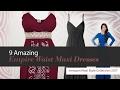 9 Amazing Empire Waist Maxi Dresses Amazon Maxi Style Collection 2017