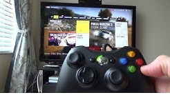 How to Use a Xbox 360 Controller on a Xbox One (quick version)