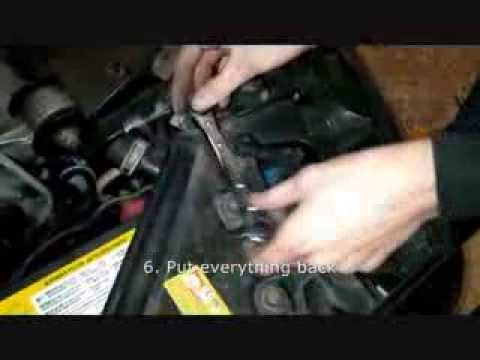 How To Replace A Car Battery Cadillac 97 99 Sedan Station He
