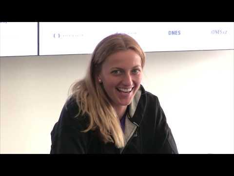 Petra Kvitová po vítězství v 1. kole J&T Banka Prague Open