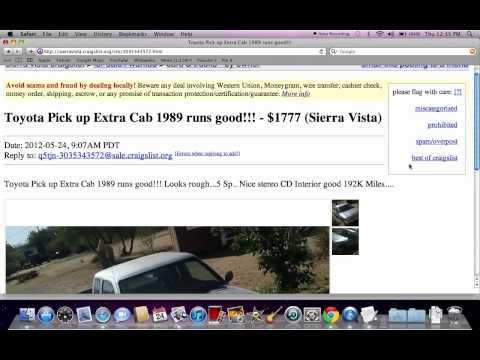 craigslist sierra vista az used cars trucks and suv models under 4000 youtube. Black Bedroom Furniture Sets. Home Design Ideas
