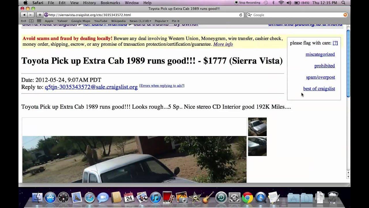 Craigslist Sierra Vista AZ - Used Cars, Trucks and SUV ...