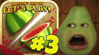 Pear Plays - Fruit Ninja #3