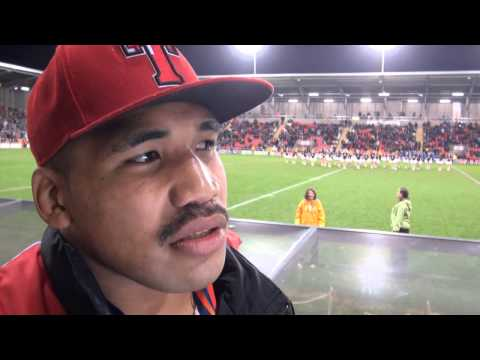 Tonga Edge Pacific Islands Thriller (Produced for Rugby League World Cup TV & Pacific Media)