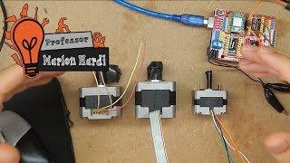 #9 - Como identificar fios e ligar motores de passo 4,5 ou 6 fios nos Drivers A4988/DRV8825